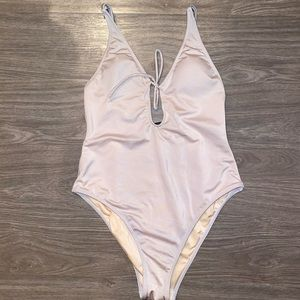 L.A. Hearts Silver Swimsuit